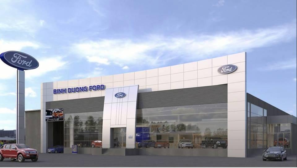 TOP các mẫu xe nổi bật ở Ford Bình Dương